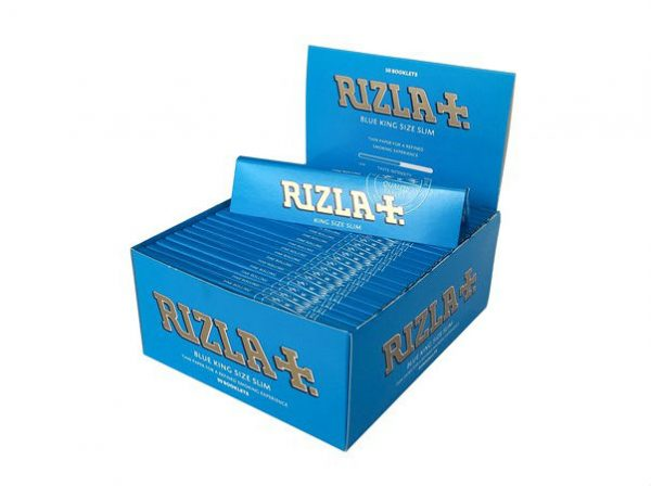 Rizla Blue Lange Vloei Slimsize Box | LangeVloeiKopen.nl