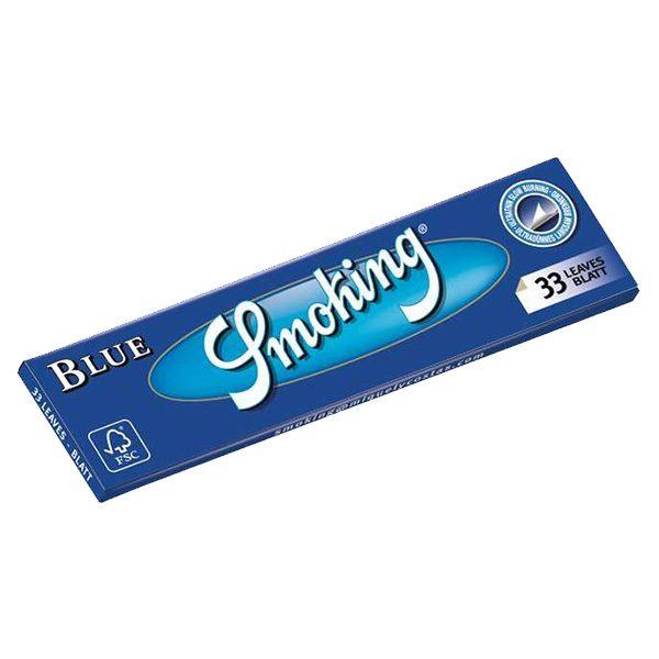 Smoking Blue Lange Vloei   LangeVloeiKopen.nl