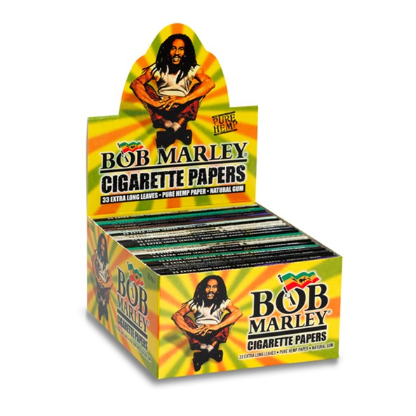 Smoking Bob Marley Kingsize Display